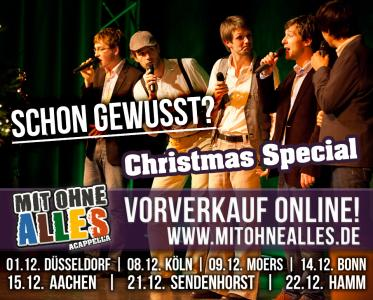 Mit ohne Alles - Christmas Special VVK