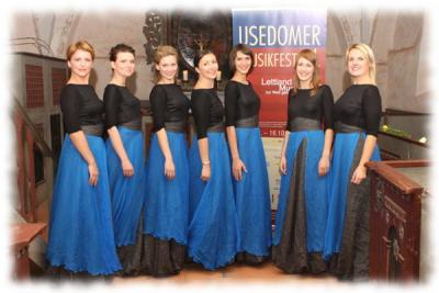 The Latvian Voices at the Usedom Music Festival 2010