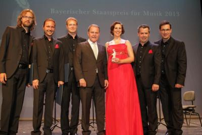 Singer Pur receives Bavarian Music Award 2013-1.jpg